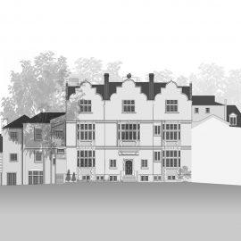 Eagle House front elevation