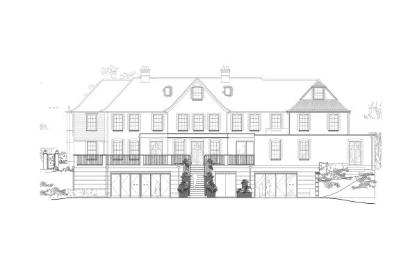 1195-PL-10 Proposed Rear Elevation - RevB