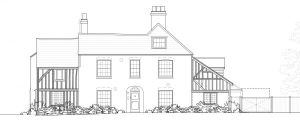 1198-PL-REV C 07 Proposed Elevations North & South