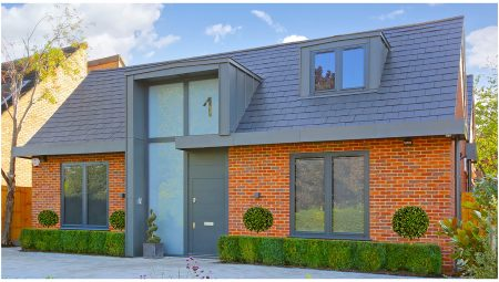 New Build - Red brick detached dwelling