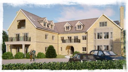 The Ridgeway project required designs for the redevelopment of this suburban site with a new apartment building containing nine apartments with car parking